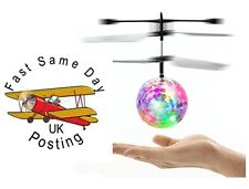Electric RC Fly Ball Infrared helicopter drone Flash LED Light Toy UK