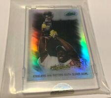 2008 eTopps NFL EVENT SERIES IN Hand Encased /1499 Pittsburgh STEELERS Champions