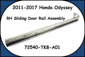 2011-2017 Honda Odyssey Rear Right Side Slide Door Roller Rail 72540-TK8