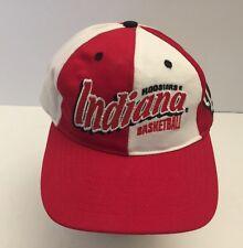 *VTG IU Hat Cap Indiana University Hoosiers Basketball Snap Back Twins. Ba11135