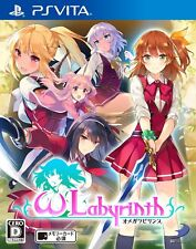 Sony PSVITA Japan Omega Labyrinth Tracking Number from Japan