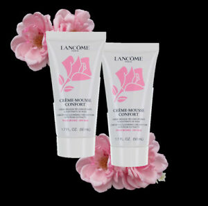 Lancome Creme Mousse Confort Face Cleanser Foam Dry Skin 100/150ml  New UPick