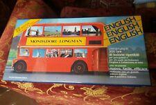 Corso completo di inglese in cassette Mondadori Longmann anni 80