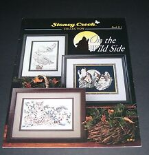 STONEY CREEK COUNTED CROSS STITCH ON THE WILD SIDE #111 1993 PATTERN BOOK