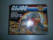 GI Joe Cobra Pogo Ballistic MIB European version Hasbro 1988
