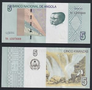 Angola 5 kwanzas 2012 FDS/UNC  C-07