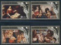 Burundi Scott #B95-B98 MNH Christmas 1984 Paintings Art CV$28+