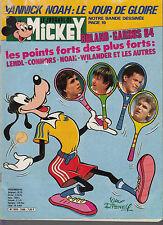 Journal de Mickey n°1666 année 1984