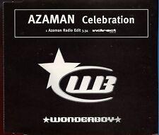 Celebration - Wonderboy / Azaman - 1 Track Promo