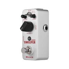 MOOER SWEEPER Bass Guitar Filter Effect Pedal True Bypass Full Metal Shell A2T1