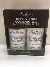 Shea Moisture 100% Virgin Coconut Oil Daily Hydration Body Kit