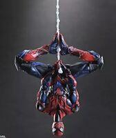 MARVEL UNIVERSE VARIANT PLAY ARTS Kai Spider-Man PVC Painted Action Figure Japan
