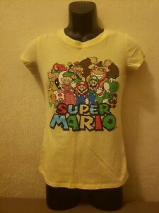 SUPER MARIO 'Nintendo' WOMENS T-SHIRT- SIZE MEDIUM - GREAT COND. - Video Game