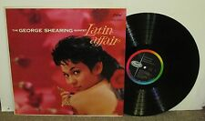 GEORGE SHEARING Latin Affair, orig Capitol vinyl LP, 1959, EX/VG+, cheesecake
