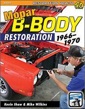 Mopar B-Body RESTAURO 1966-1970 - Sa327 LIBRO