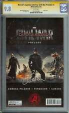 MARVEL'S CAPTAIN AMERICA: CIVIL WAR PRELUDE #3 CGC 9.8 WHITE PAGES ID: 4178