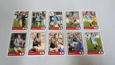 2005 AFL SELECT TRADITION PORT ADELAIDE POWER TEAM SET 10 CARDS