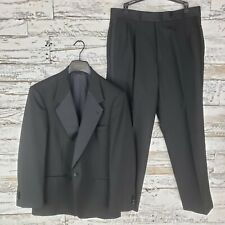 Kuppenheimer Mens Tuxedo Suit Jacket and Pants Black Size 40S