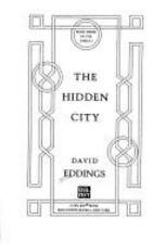 The Hidden City (The Tamuli, Book 3) Eddings, David Hardcover