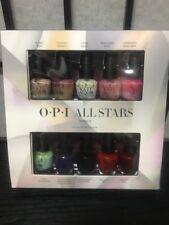 Opi Starlight All Stars Mini Nail Lacquers Polish 10 pc Set 3.75 ml .0125 fl oz