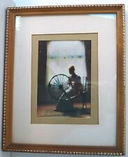"""BEAUTIFUL FRAMED PHOTOGRAPH """"SILVER TREADS"""" BY ART GORE IN GLASS & WOODEN FRAME"""