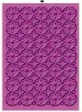 CUTTLEBUG EMBOSSING FOLDER ~SWIRL 17CM X 12,5CM