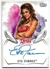 Eve Torres 2015 Topps WWE Undisputed Autographs Card # UAEV
