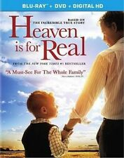 Heaven Is for Real (2014) Region BLURAY & R1 DVD Combo