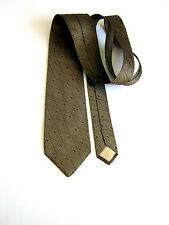 EMANUEL UNGARO Cravatta Tie Originale 100% SETA SILK