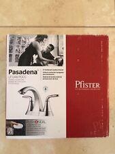"""Pfister Pasadena LF-048-PDCC 4"""" Centerset Faucet, Polished Chrome, NEW!"""