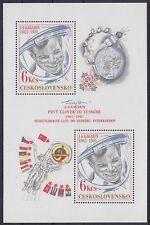 CSR Block 43 **, Gagarin Raumfahrt Space 1981, Tschechoslowakei, postfrisch MNH