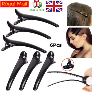 Black Sectioning Hairdressing Clips Long Hair Clips Saloon Ladies Hair Styles