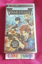 VALKYRIA CHRONICLES II SONY PSP NEUF SOUS BLISTER VERSION FRANCAISE