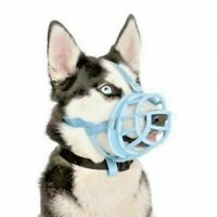 The Company Of Animals BASKERVILLE Ultra Dog Muzzle All Sizes & Breeds BLUE