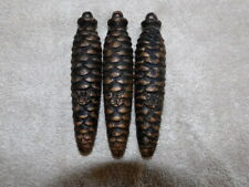 Three Cuckoo clock Weights 375 Black Forest Germany