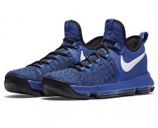 premium selection 37f81 cece5 NEW NIKE ZOOM KD 9 GAME ROYAL BLUE-WHITE-BLACK SIZE 8.5 FLYKNIT!