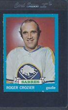1973/74 Topps #108 Roger Crozier Sabres NM/MT *741