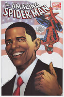 The Amazing Spider-Man #583 Barack Obama Variant 4th Printing (White Cover) Mint