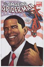 The Amazing Spider-Man #583 Barack Obama Variant 4th Printing (White Cover)