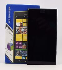 "USED - Nokia Lumia 1520 Black RM-937 (FACTORY UNLOCKED) 6"" , 32GB , 20MP"