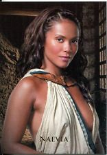 "2012 SPARTACUS TRADING CARDS ""Women of Spartacus"" subset  NAEVIA card  #WG3"