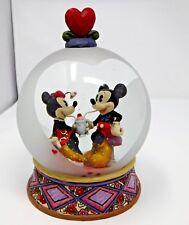 Disney Traditions by Jim Shore - Mickey and Minnie Soda Shop Snowglobe (Sweethea