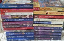 Vintage Mixed Lot of 23 Harlequin Silhouette Romance Paperback Fiction Books