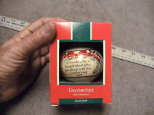 "Hallmark Ornament 1989 GrandMother "" A Grandmother Is thought About Offen and"""