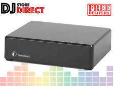 Pro-Ject (Project) Phono Box E MM Phono Stage Pre Amp Amplifier - Black FREE P&P