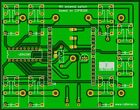PCB of Remote antennas switch with WI-FI interface HF hamradio