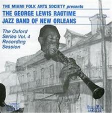 George Lewis Ragtime Jazz Band-The Oxford Series Vol. 4  CD NEW