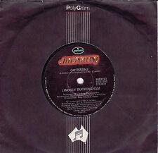 LINDSEY BUCKINGHAM Go Insane / Play In The Rain 45 - Fleetwood Mac