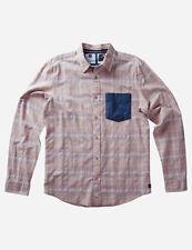 Analog Richmond Long Sleeve Shirt (M) Khaki