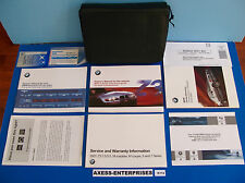 2001 BMW E36/7 Z3 2.5i 3.0i Coupe Roadster Owner Manuals Operator Books Set K174